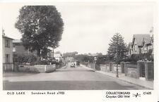 Isle of Wight Postcard - Old Lake, Sandown Road c1923, Pamlin Print  A5668