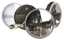 "Truck-Lite 27270C 7"" Round LED Headlights Pair Hummer"