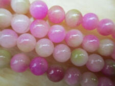 Natural 8mm pink Kunzite Round Gemstones Loose Beads 15''AAA ##ZY108