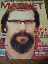 Steve Earle Covers Magnet Magazine 2000