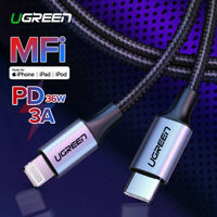Ugreen MFi USB C Type C to Lightning Data Charge Cable 36W PD Fast Charger