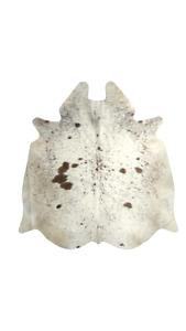 Cowhide Rug Exotic Black & White real Hair on Cow Hide Skin Area Rugs 25sqft 5x5