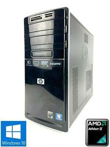 HP p6310uk MT - 500GB HDD, AMD II X4 630, 4GB RAM - Win 10 Home