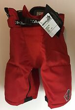 Ice Hockey Jr Pant Red Tackla Model EXPP55 w/zips,  Most Jr Sizes