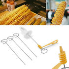 Potato Twister Tornado Slicer Manual Cutter Spiral Chips Kitchen Cook Maker