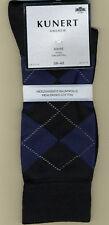 KUNERT ANDREW, 3 Paar Socken mit Rauten-Design, Farbe dark-navy, KUNERT 871100