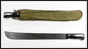 Vintage machete with canvas sheath Made in Sheffield England LOOK