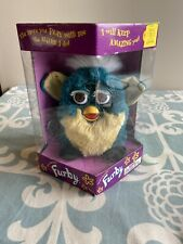 NIB Original Furby 1998 Tiger Electronics Green Model 70-800 BROWN Eyes
