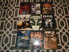 LOT OF 9 WRESTLING DVDS, 22-DISC SET