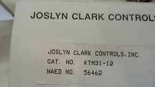 JOSLYN CLARK KTM31-12 NEW IN BOX 3 LINE OVERLOAD RELAY SIZE 1 SEE PICS #A27