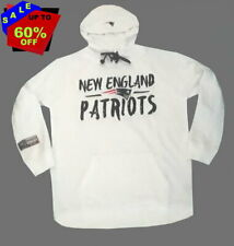 NFL Womens Apparel * New England Patriots Ladies Tie-Neck Hooded Sweatshirt, MED