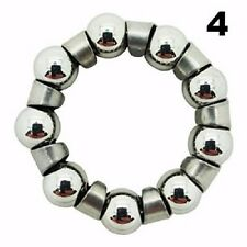 Four (4) Bicycle 1/4 inch x 9 Ball Bearings With Retainer