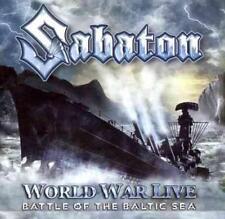 SABATON - WORLD WAR LIVE: BATTLE OF THE BALTIC SEA NEW CD