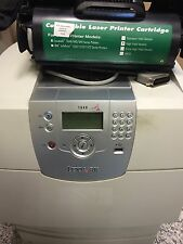 Stampante Usata Lexmark T640 + 1 Toner Nuovo No Lexmark + 1 Toner Interno Usato