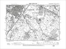 Gloucester (SE), Hucclecote, Matson, Old Map Gloucestershire 1903: 33NE