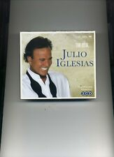 JULIO IGLESIAS - THE REAL... JULIO IGLESIAS - 3 CDS - NEW!!