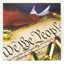"Infused Kydex We The People Bullets Print 7.5"" X 7.5"" Sheet FREE SHIPPING"