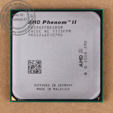 HDZ965FBK4DGM - AMD Phenom II X4 965 3.4 GHz Prozessor CPU AM3 100% working