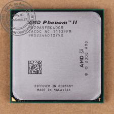 Hdz965fbk4dgm-AMD Phenom II x4 965 3.4 GHz processeur CPU am3 100% Working
