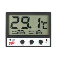 LCD Digital Fish Tank Aquarium Thermometer Meter High/Low Temperature Alarm I7C6