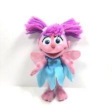 "Sesame Street Hasbro Abby Cadabby 8"" Plush Stuffed Toy 2013 Girl Doll"
