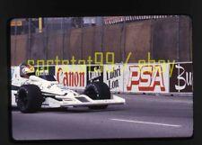 1979 Clay Regazzoni #28 Williams - Long Beach Grand Prix - Vtg 35mm Race Slide