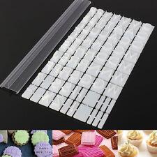 Plastic Alphabet Letters Cake Baking Molds Cutter Fondant Cookie Stamp Embosser