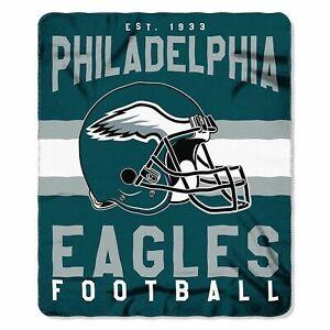 "Philadelphia Eagles 50"" x 60"" Singular Fleece Throw Blanket by Northwest"