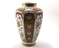 Vintage German Porcelain Jug Decorated Leaf Design Hand Painted Old Vase signed