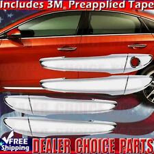 Fits 2015 2016 2017 2018 HYUNDAI Sonata Chrome Door Handle COVERS No Smart Key