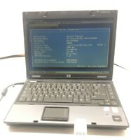 HP Compaq 6510b Intel Core 2 Duo T7250 2.0GHz 512MB - No hdd, Os, Battery (0TI)