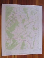 Upperville Virginia 1978 Original Vintage USGS Topo Map