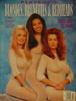 Playboy's Blondes Brunettes & Redheads September 1993 | Anna Nicole Smith #1352+