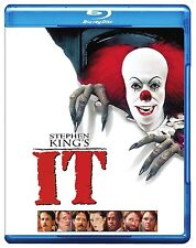 STEPHEN KING'S IT (1990) HI DEF BLU RAY (2016) MINI-SERIES 187 MINS