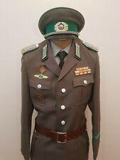 Komplette DDR - Uniform der Grenztruppen, Oberstleutnant, Karneval, NVA