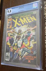 X-MEN #126 CGC 9.8 WHITE PAGES Legendary Cockrum Cover Byrne Art Marvel Comics