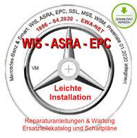 MERCEDES WIS ASRA EPC 2020  - ESD Download Version - Support für Installation
