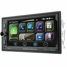 "POWER ACOUSTIK Double DIN 6.5"" Bluetooth Digital Media Car Stereo 