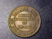 NATIONAL COIN ARCADE SPECIALISTS!   HH101XXX