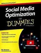 Social Media Optimization for Dummies (Paperback or Softback)