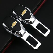 2Pcs Car Seat Safety Buckle Silencer Insert Plug Clip Accessorie for  Chevrolet