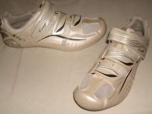 NWOB Scott Comp Champagne/Wht. Lady Women's Road Cycling Shoes Sz. EUR 38 US 6.5