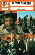 FICHE CINEMA : UN RABBIN AU FAR WEST - Wilder,Ford,Aldrich 1979 The Frisco Kid