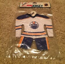 Wayne Gretzky EDISPORT Mini Edmonton Oilers HOME White Jersey Uniform in Package
