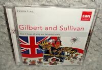 Essential Gilbert & Sullivan (CD, 2012, 2-Discs) NEW & SEALED