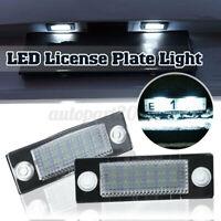 2x 12V LED Éclairage plaque pour VW/Passat B5.5 B6 Caddy MK3 Golf Plus MK4 MK5