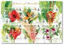 PITCAIRN ISLANDS 2018 COLOURS OF PARADISE FLOWERS SHEET MNH