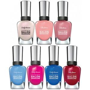 Sally Hansen COMPLETE SALON MANICURE Polish 14.7ml - Choose your shade NEW