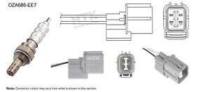 NGK NTK Oxygen Lambda Sensor OZA686-EE7 fits Honda Prelude 2.2 S (BA), 2.2 VT...