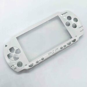 White For Sony PSP 1001 PSP 1000 Faceplate Front Cover Case Replacement Shell US